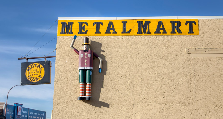 Metal Mart Friendly Staff